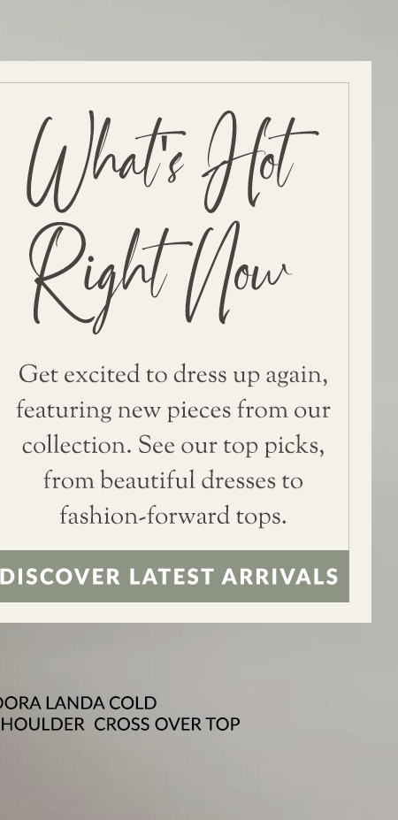 Discover Latest Arrivals