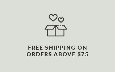 Free Shipping On Orders Above $75