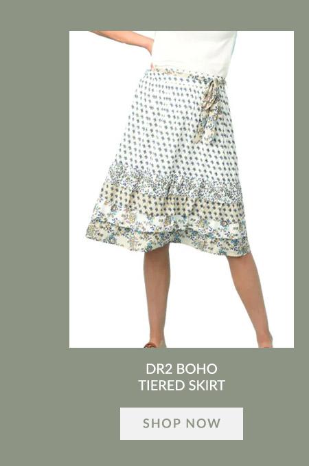 DR2 Boho Tiered Skirt