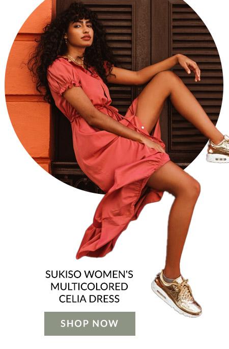 Sukiso Women's Multicolored Celia Dress