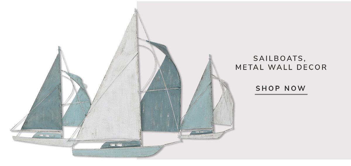 Sailboats, Metall Wall decor   SHOP NOW