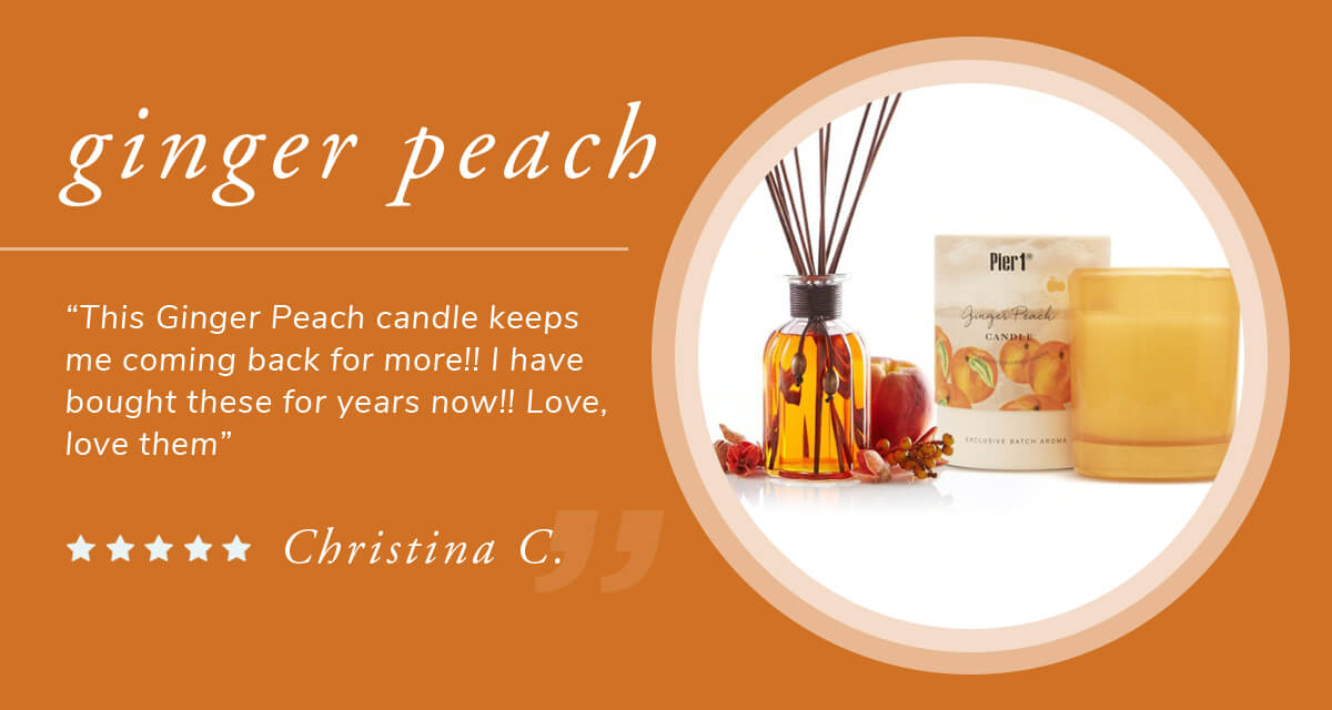 Ginger Peach Scents | SHOP NOW