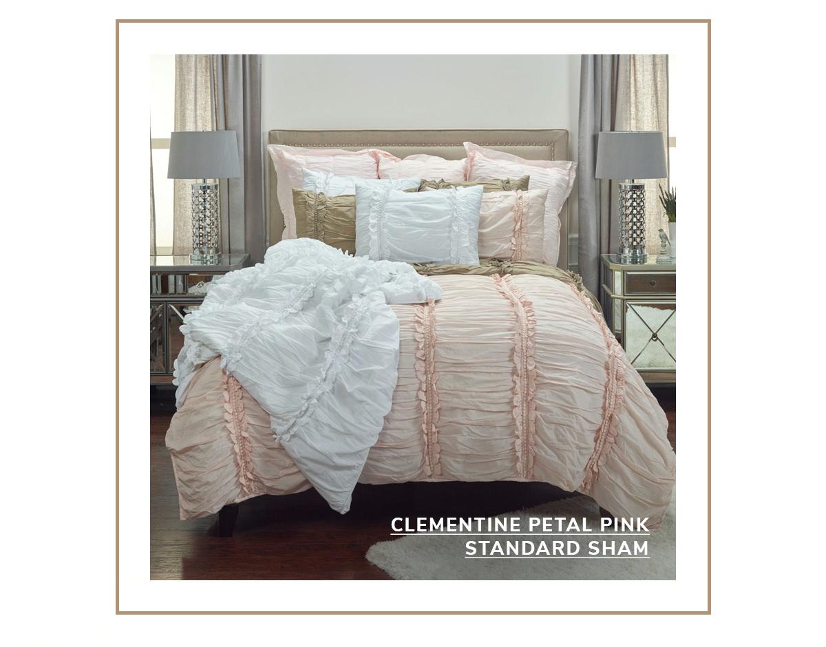 Clementine Petal Pink Standard Sham   SHOP NOW