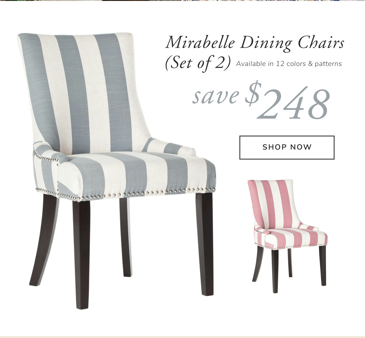 Mirabelle Dining Chair (Set Of 2). Save $248 | SHOP NOW