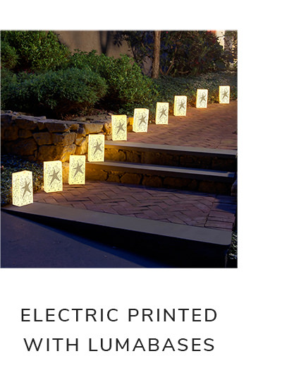 Electric Set of 10 Luminaria Kits | SHOP NOW