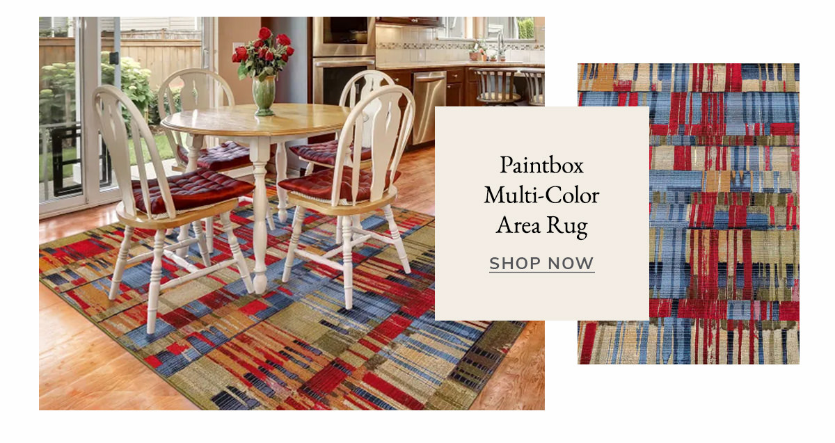 Paintbox Multi Outdoor Rug | SHOP NOW