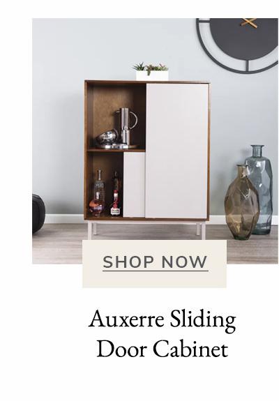 Auxerre Sliding Door Cabinet | SHOP NOW