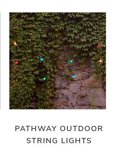Pathway 8 Globe Bulbs Solar Powered Outdoor String Lights | SHOP NOW