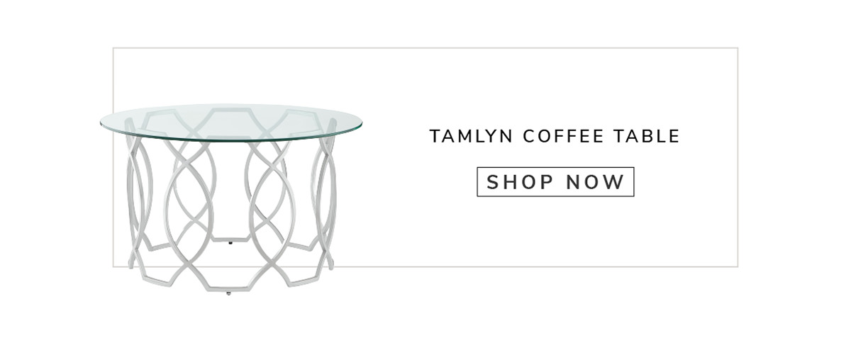 Tamlyn Round Top Coffee Table   SHOP NOW