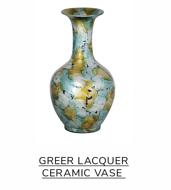 Greer Lacquer Ceramic Vase | SHOP NOW