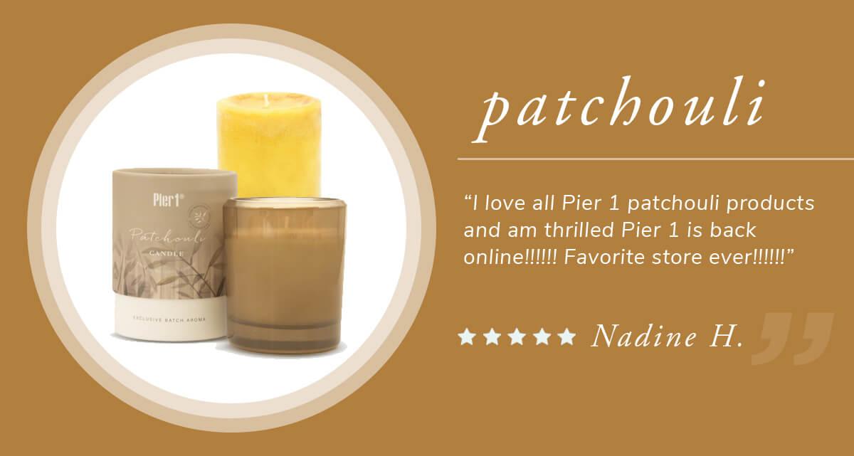 Patchouli scents | SHOP NOW