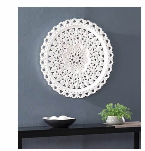 Gerard Round Carved Wall Decor | SHOP NOW