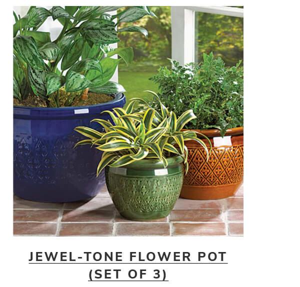 Jewel-tone flower pot | SHOP NOW