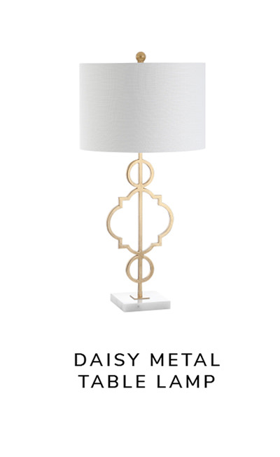 Daisy Metal Table Lamp   SHOP NOW