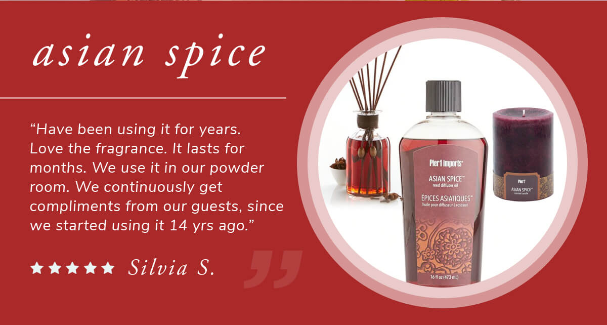 Asian Spice Scents | SHOP NOW