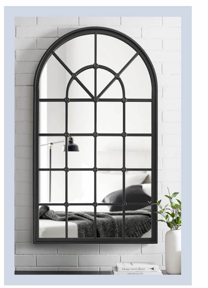 Modern Farmhouse Arched Accent Mirror | SHOP NOW