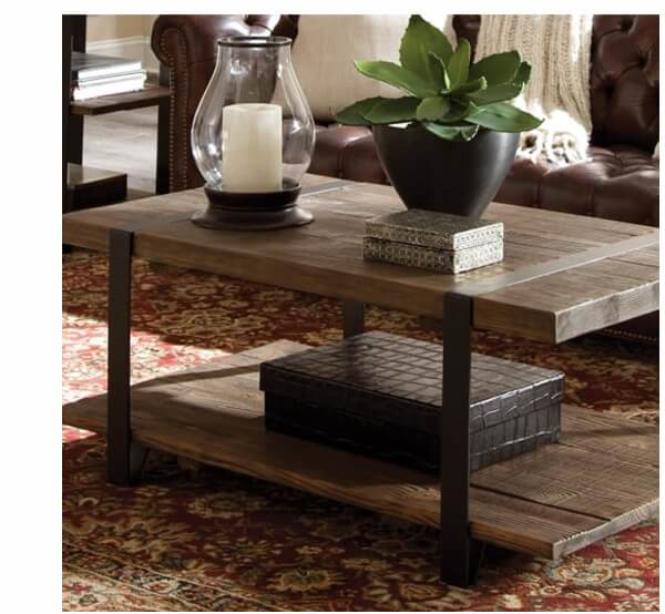 Modesto Reclaimed Wood Coffee Table | SHOP NOW