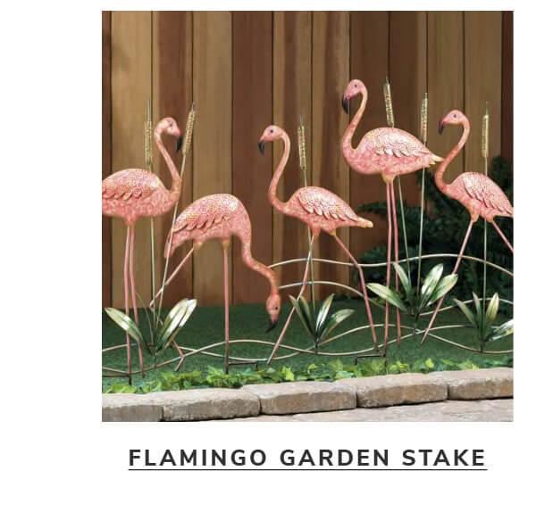 Flamingo Garden Stake | SHOP NOW