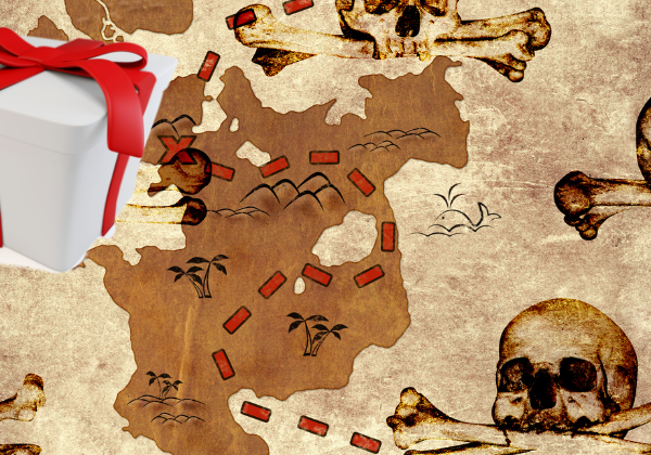 treasure map mystery crate
