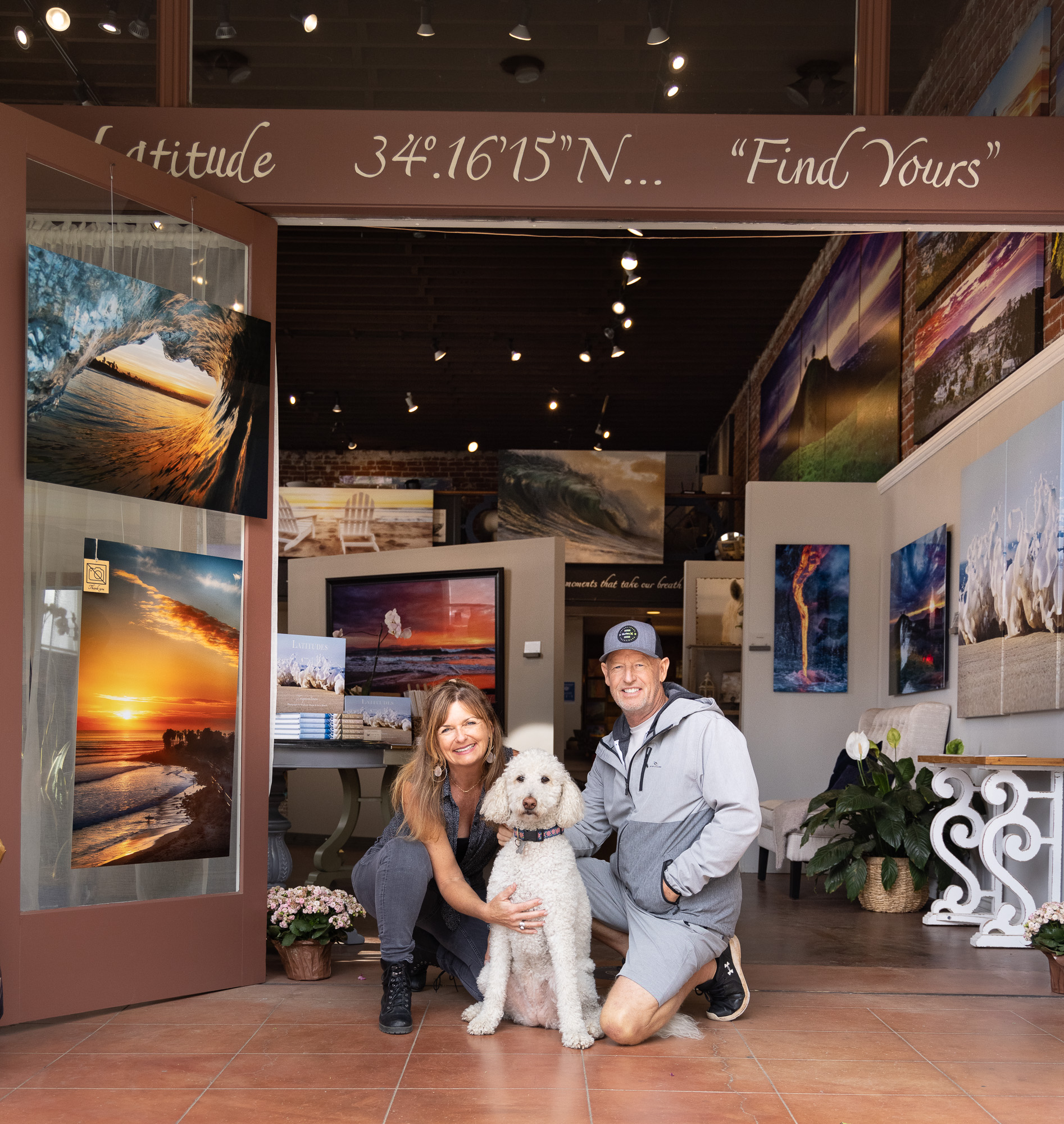 Owners of the gallery - Stephanie and Steve
