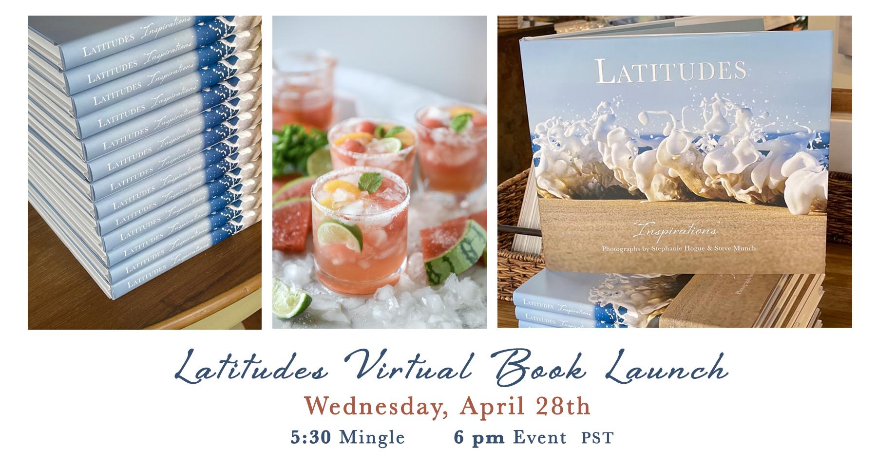 Book Launch Party Invitation April 28, 2021