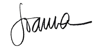 joanna signature