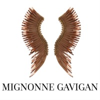 Image of Mignonne Gavigan Madeline Grey and Rose Gold Earrings