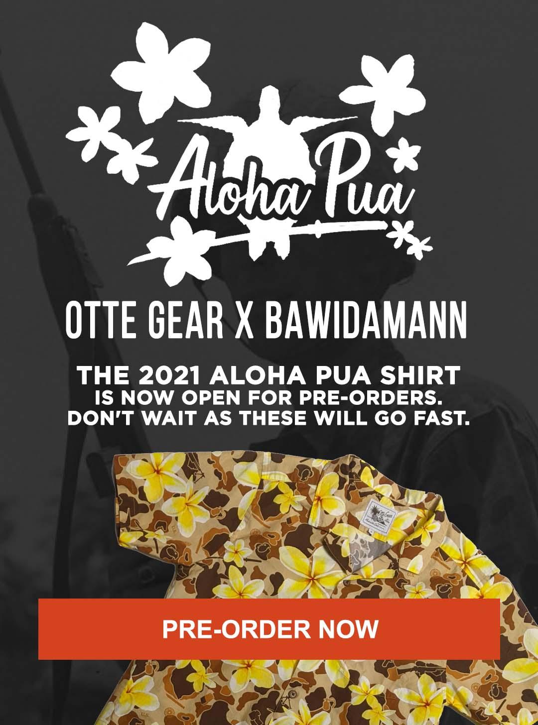 Pre Order The 2021 ALOHA PUA SHIRT