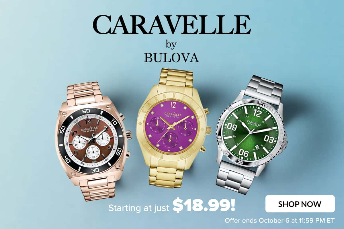 New! CARAVELLE by BULOVA