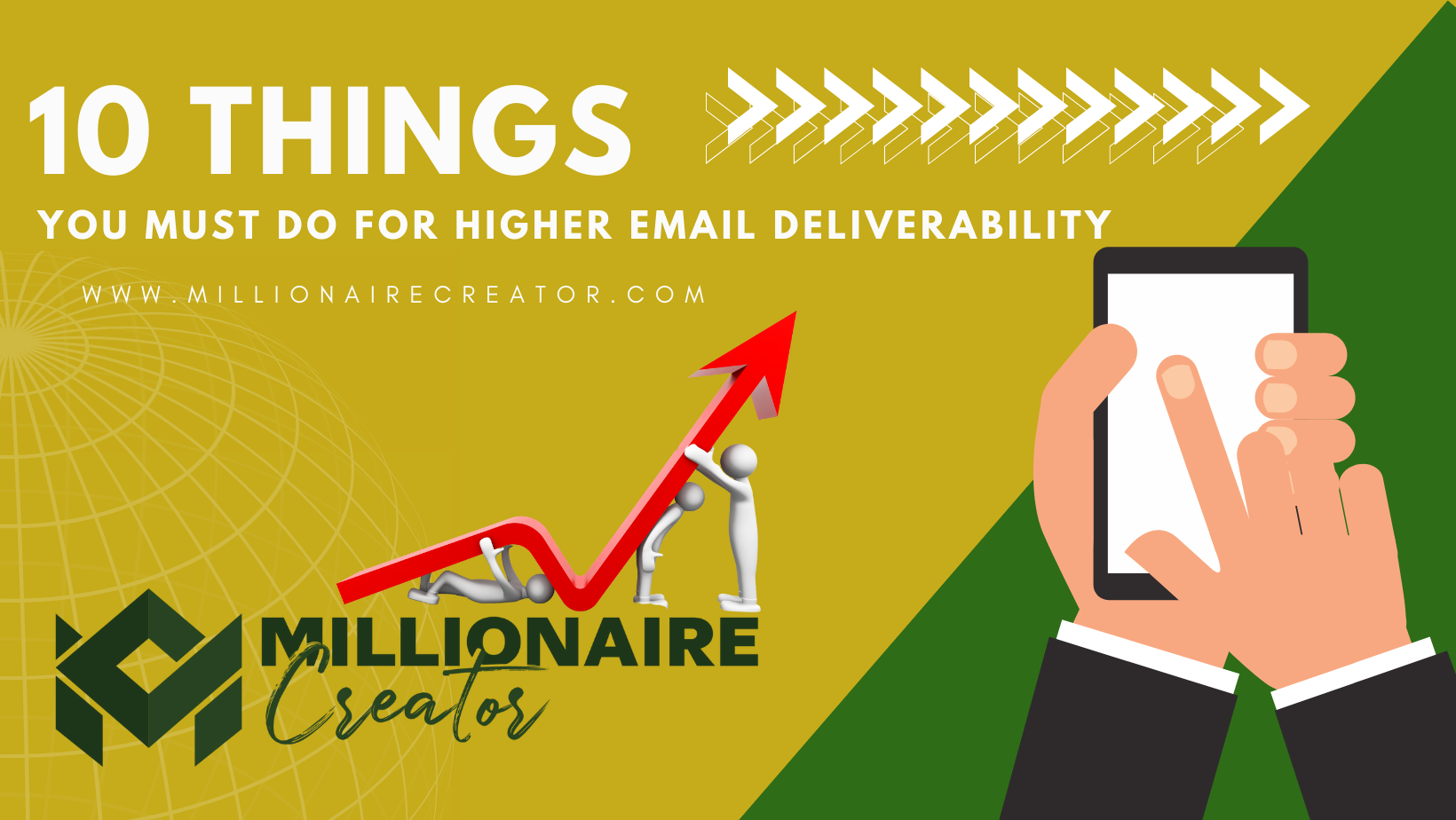 increasing email deliverability by Colin Wayne, Millionaire Creator