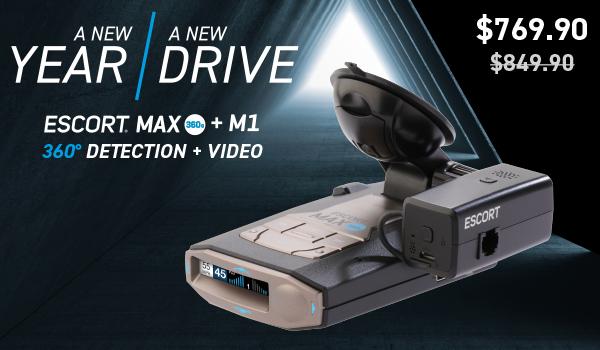 Escort MAX 360c + M1 Bundle