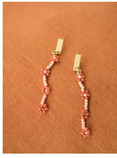 Aster Beaded Earrings