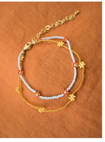 Aster Beaded Bracelet