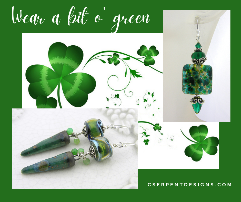 pinch proof green designs for St. Patricks Day