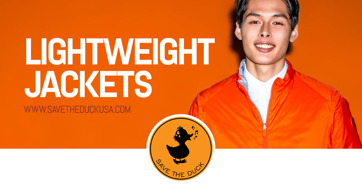 Get yourself on full speed suited up in our lightweight jackets!