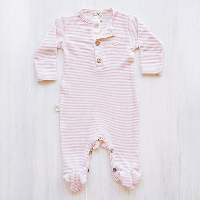 organic merino jumpsuit for play and sleep