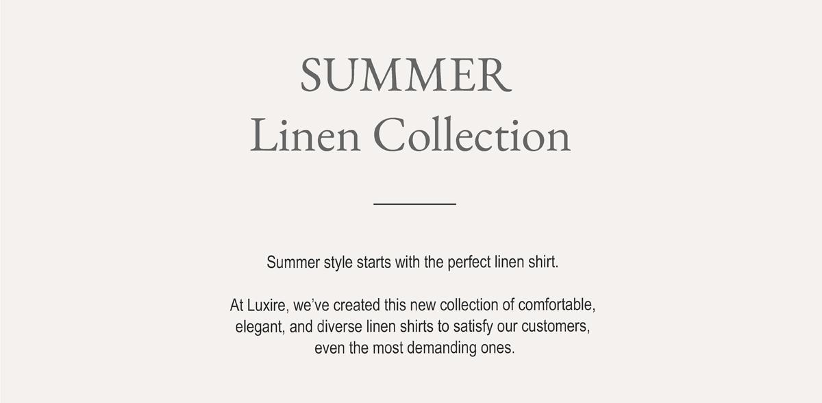 Summer Linen Collection