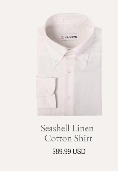 Seashell Linen Cotton Shirt