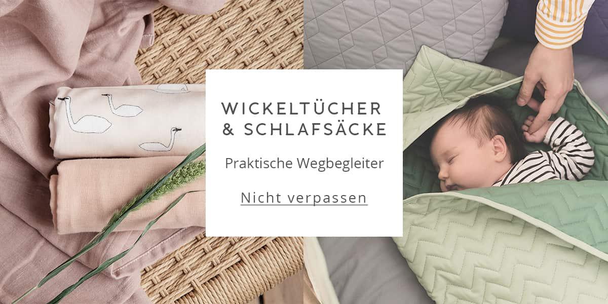 Wickeltücher & Schlafsäcke