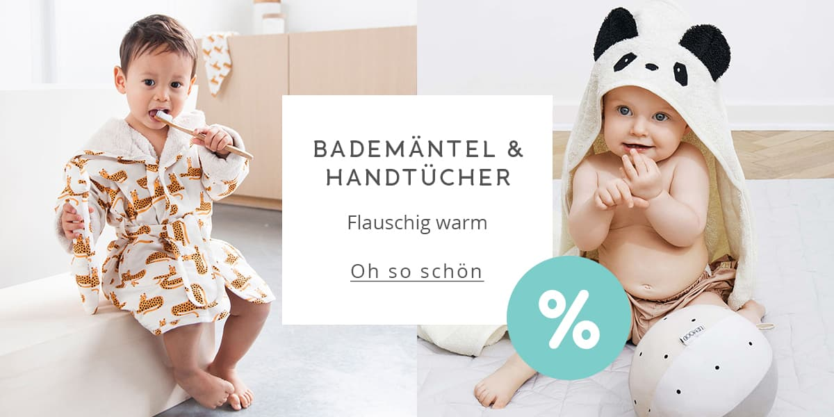 Bademäntel & Kinderhandtücher