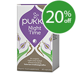 Pukka Night Time - Herbal Blend - 60 Vegicaps