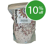 BonPom Dead Sea Bath Salt with Rose Petals - 1kg