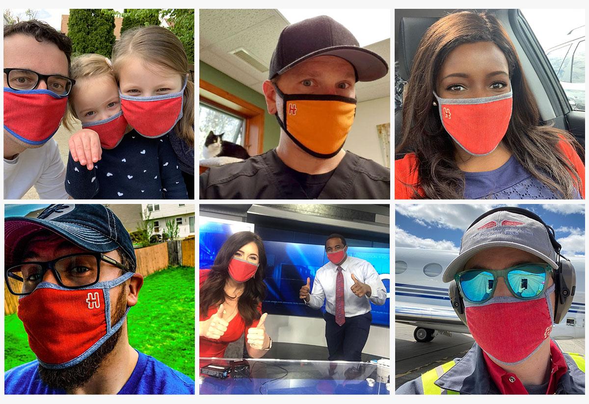 Homage Cloth Masks