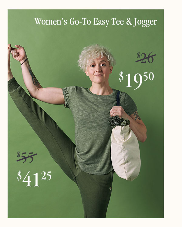 Women's Go-To Easy Tee & Jogger