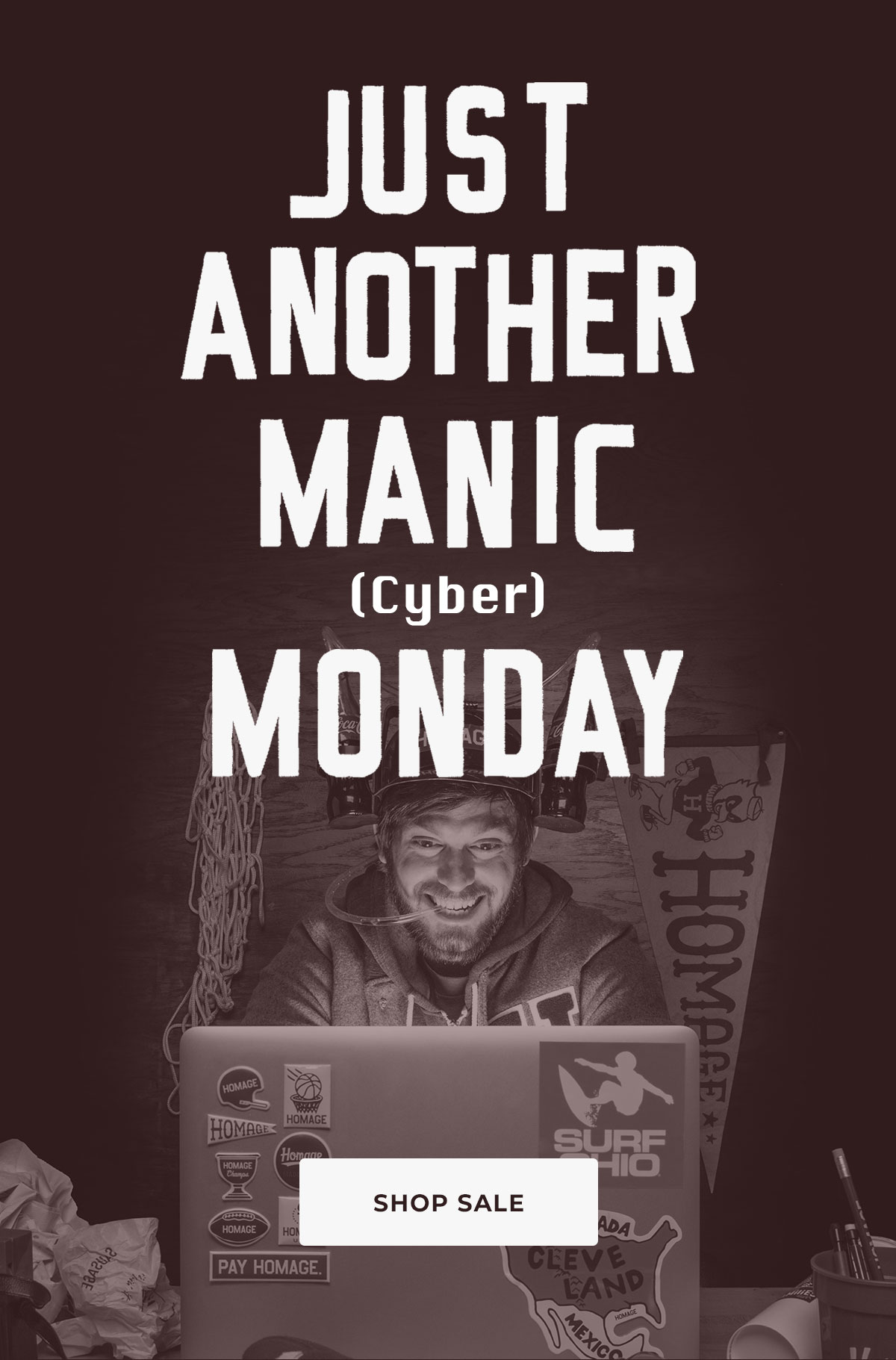 Just another manic Cyber Monday.