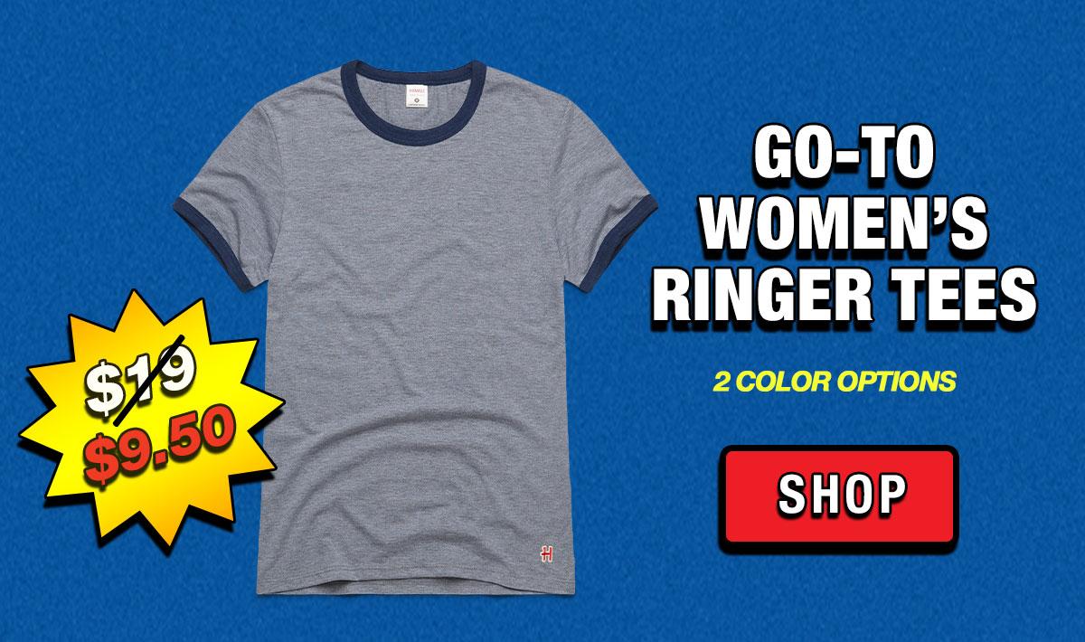 Go-To Women's Ringer Tees