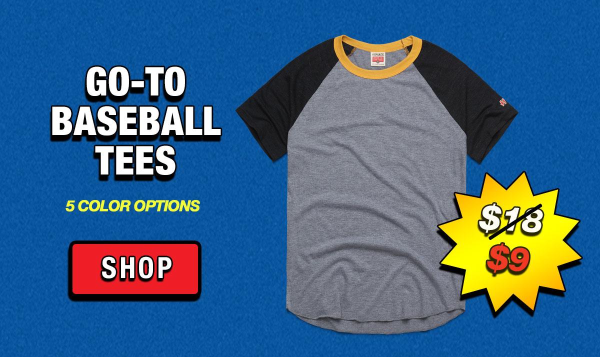Go-To Baseball Tees