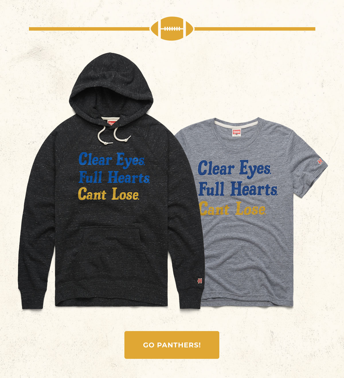 Clear Eyes Full Heart Can't Lose Hoodie