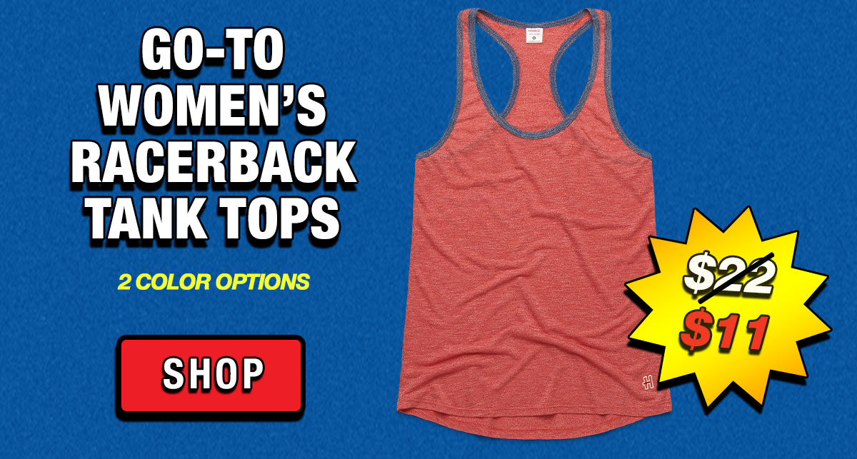 Go-To Women's Racerback Tank Tops