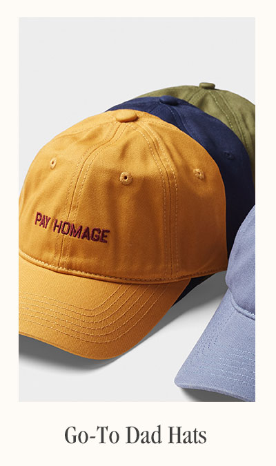 Go-To Dad Hats